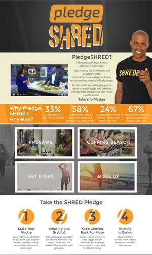 Pledge SHRED